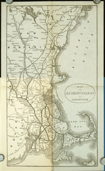 Seventeenth Annual Report of the Directors of the Old Colony Railroad Company to the Stockholders. OLD COLONY RAILROAD - MASSACHUSETTS.