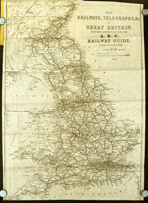 The ABC or Alphabetical Railway Guide. GREAT BRITAIN.