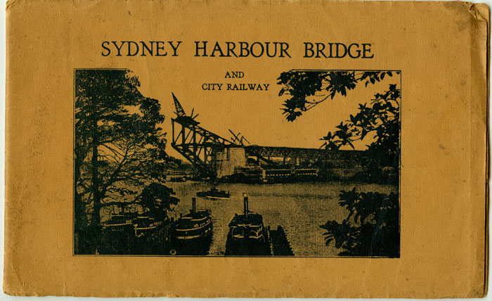 Sydney Harbour Bridge and City Railway. AUSTRALIA - SYDNEY.