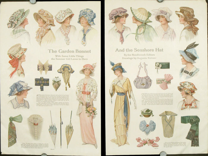 The Garden Bonnet And the Seashore Hat. With Some Little Things the Summer Girl Loves to Have