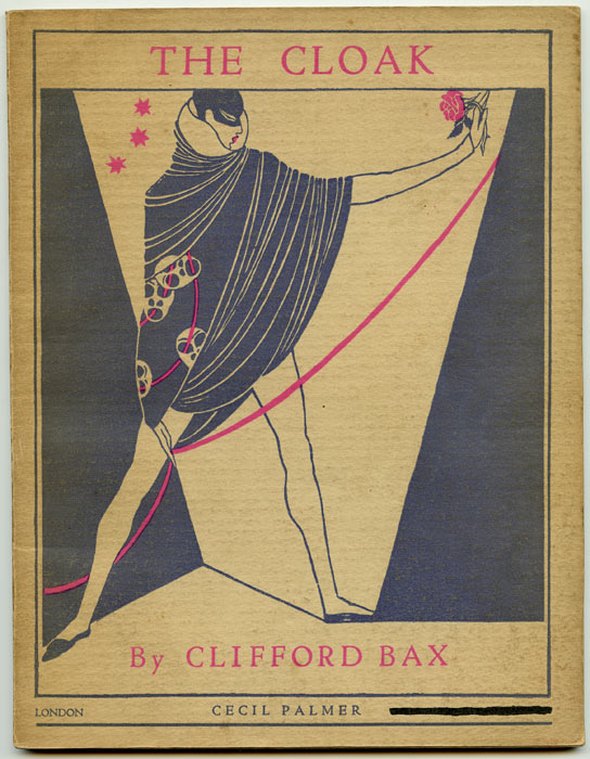 The Cloak. (Studio Plays: Number Three). ART DECO DESIGN, Clifford Bax.