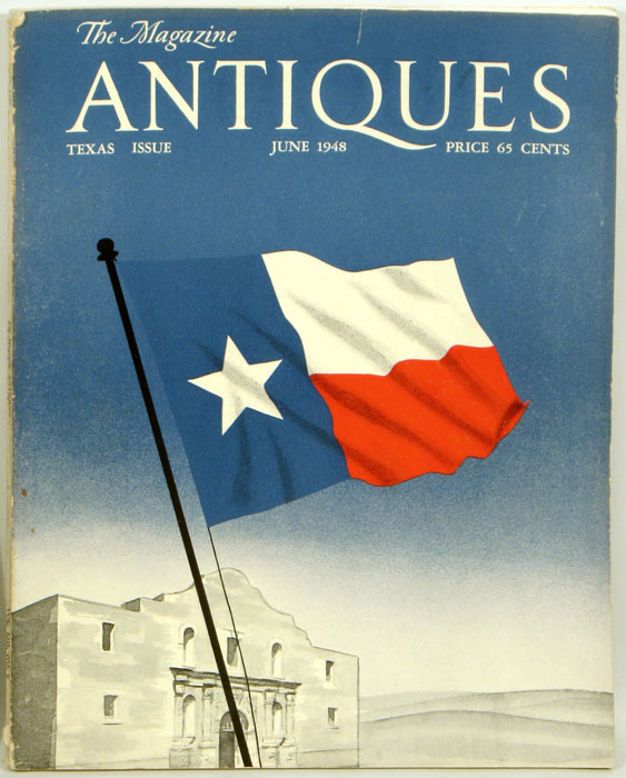 Antiques Magazine. 1948 - 06. TEXAS.