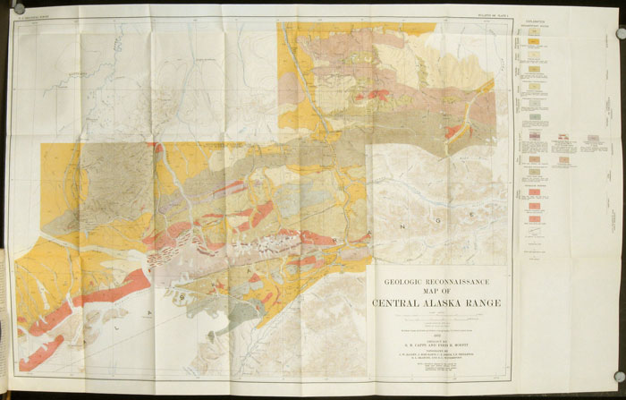 Bulletin 836 - D. The Eastern Portion of Mount McKinley National Park. / The Kantishna District...