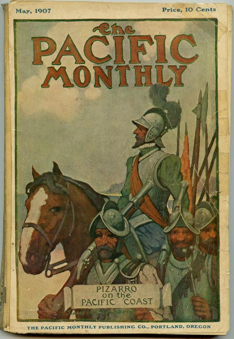 The Pacific Monthly. 1907 - 05. CALIFORNIA - LOS ANGELES, C. E. S. Wood.