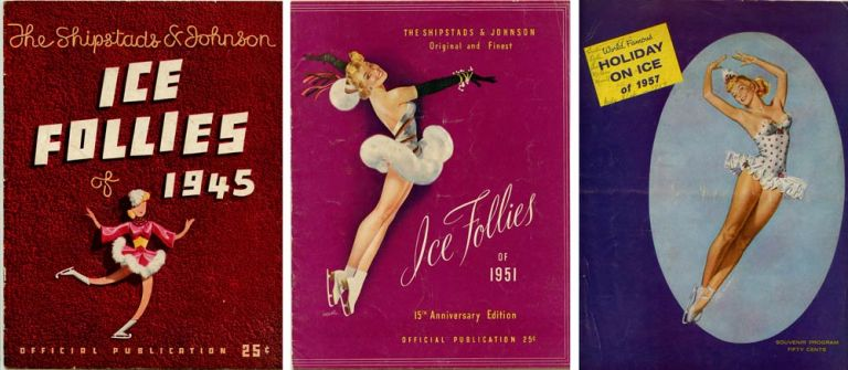 Ice Follies and Holiday on Ice (Three Programs). SKATING / AVIATION.