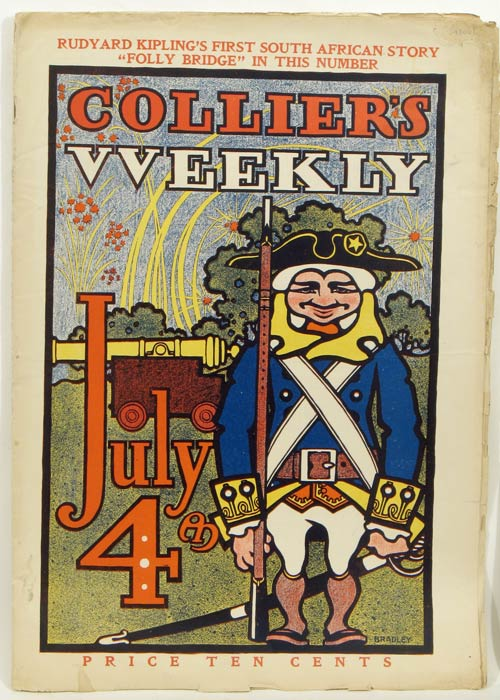 Collier's Weekly. Christmas Number. 1900, July. PRESIDENTIAL ELECTION.