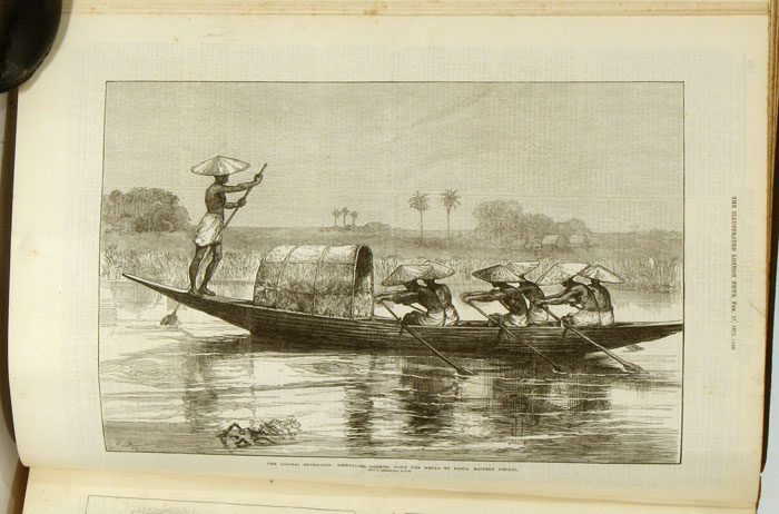 The Illustrated London News (Volume LX). January to June 1872. ASIA / ENGLAND - LONDON.