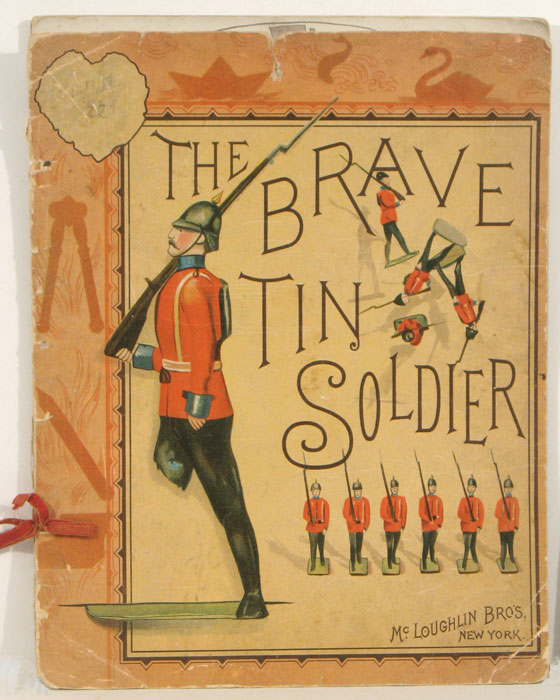 The Brave Tin Soldier. CHROMOLITHOGRAPHS, Hans Christian Anderson, after.