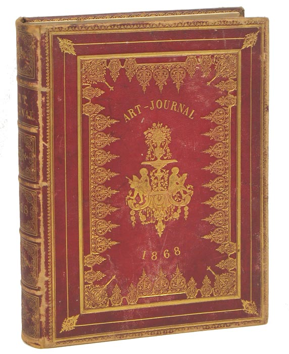 Art Journal 1868 and Illustrated Catalogue of the Paris Universal Exhibition 1867 (incomplete). HIGH VICTORIAN FINE AND APPLIED ARTS.