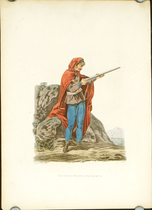 A Pandour, or Red Mantle. AUSTRIA.
