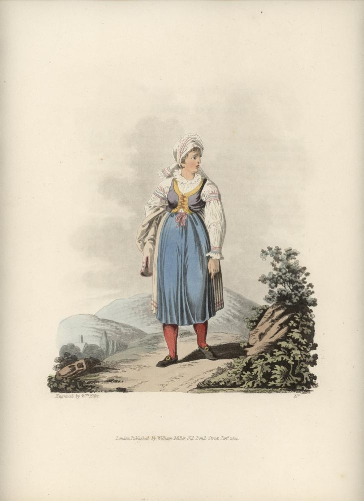 An Hannachian Woman. AUSTRIA - MORAVIA.