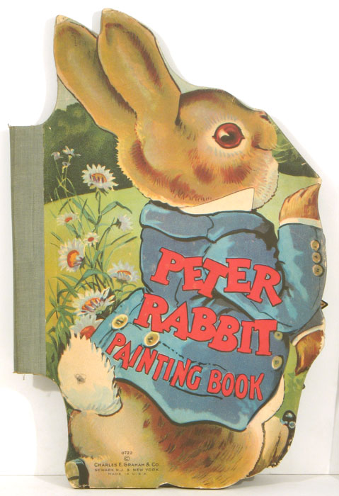 Peter Rabbit Painting Book. BUNNY RABBITS.