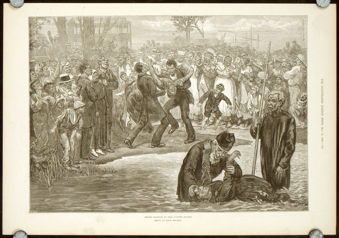 Negro Baptism in the United States. BLACK AMERICANA.