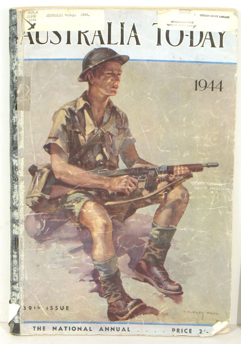 Australia To-day. 1944. The National Annual 39th Issue. AIRLINES.