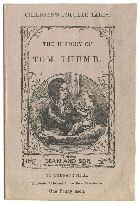 The History of Tom Thumb. MINIATURE VICTORIAN CHILDREN'S BOOK.