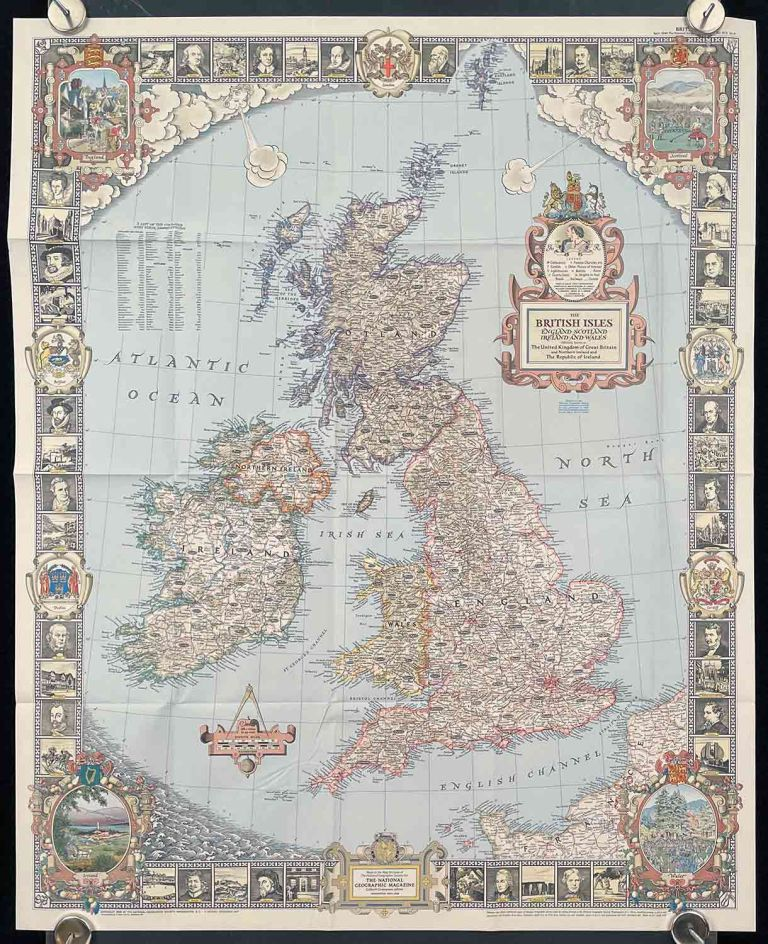 The British Isles. England Scotland Ireland and Wales. Officially known as The United Kingdom of Great Britain and Northern Ireland and The Republic of Ireland. BRITISH ISLES.