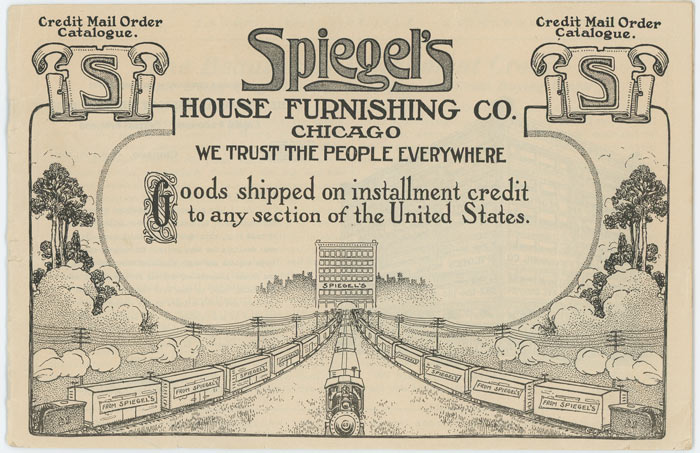 Spiegel's Credit Mail Order Catalogue. 1905 INSTALLMENT FURNISHINGS CATALOGUE.