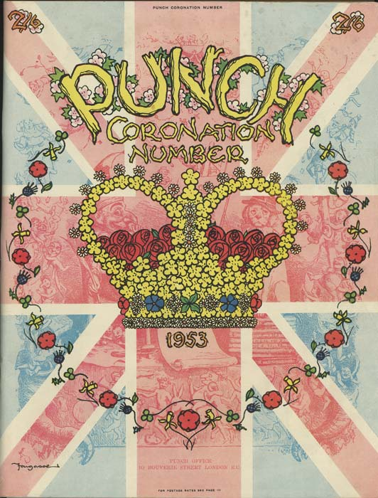 Punch Coronation Number. 1953