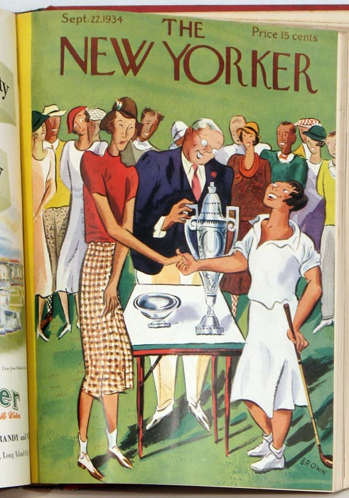 The New Yorker. 17 issues from 1934. AMERICA'S CUP etc.