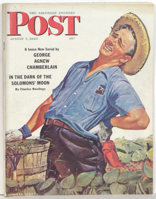 The Saturday Evening Post. 1943 - 08 - 07