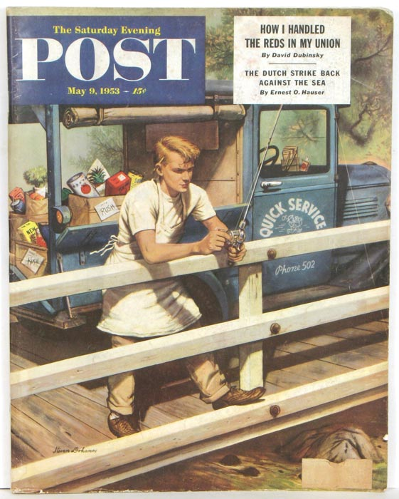The Saturday Evening Post. 1953 - 05 - 09.
