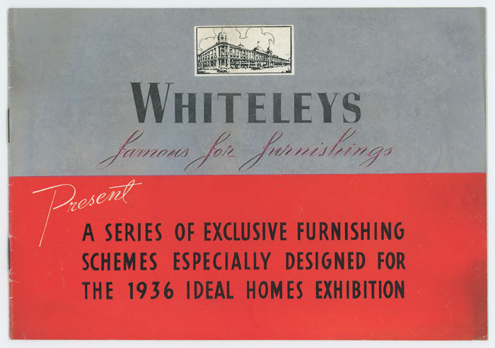 "Whiteleys ""Famous for Furnishings"" DECO HOME FURNISHINGS."