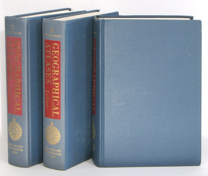 A List of Geographical Atlases in the Library of Congress with Bibliographical Notes. Volume 5-7. ATLASES - REFERENCE.