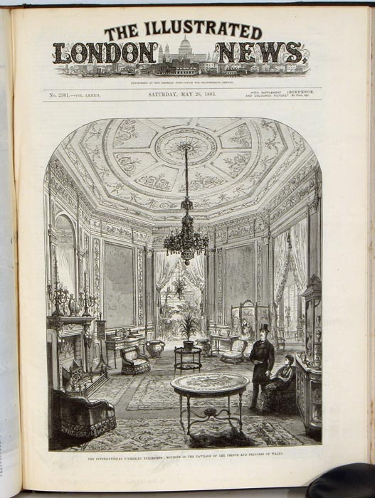 The Illustrated London News. January to June 1883. FISHERIES IMPERIAL CORONATION AT MOSCOW, etc.