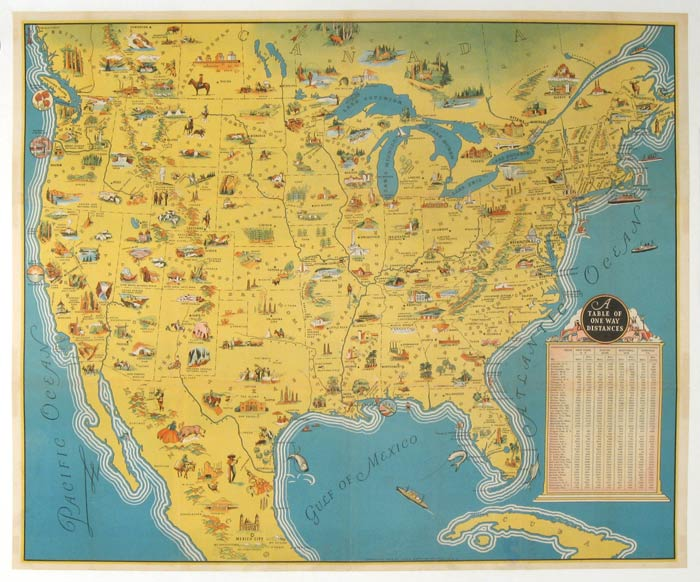 View Map Of United States.Untitled Map Of The United States See America By United States On Oldimprints Com