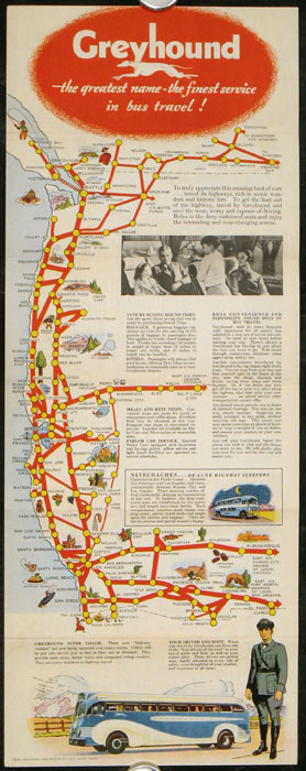 See California and All the West by Greyhound Bus. CALIFORNIA - GREYHOUND.