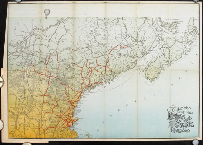 Northern Vermont. BOSTON AND MAINE RAILROAD, Moses Foster Sweetser.