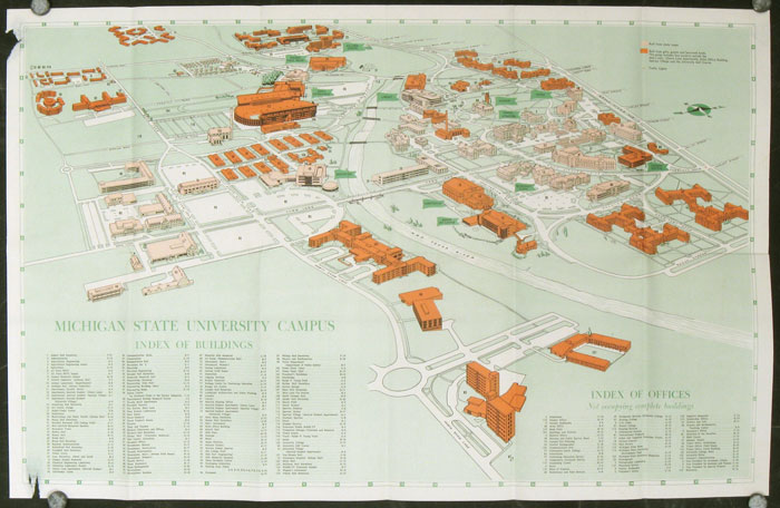 Michigan State University - Guide to the Campus. MICHIGAN STATE UNIVERSITY.