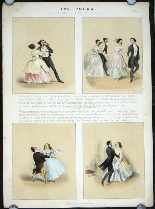 The Polka Grotesque and Elegant. POLKA DANCE.