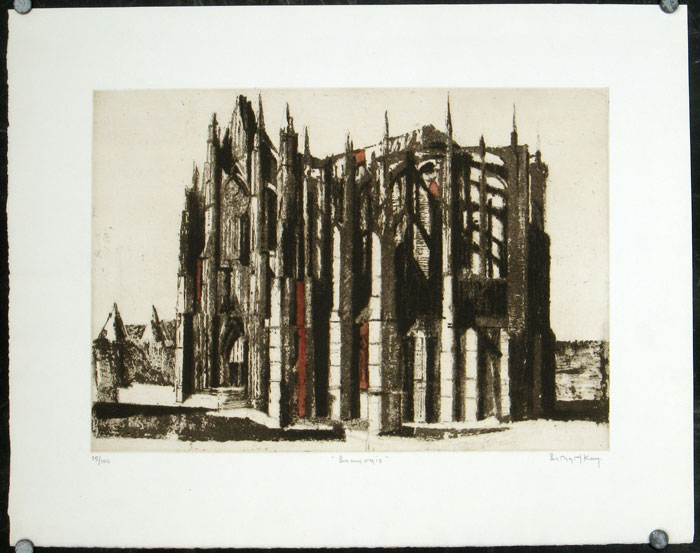 Beauvais. BERNARD - CATHEDRAL SERIES KAY.