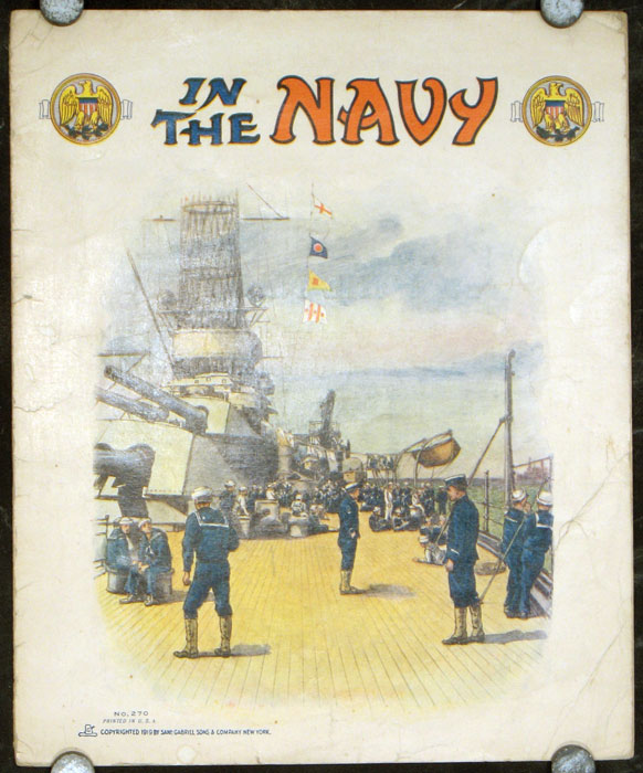 In the Navy. MILITARY - NAVY.