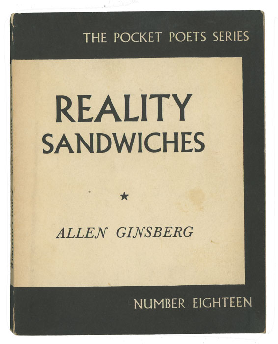 Reality Sandwiches 1953 - 60. COLLECTED POEMS, Allen Ginsberg.