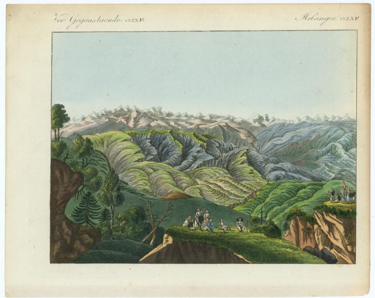 TWO UNTITLED VIEWS OF Mountainous Regions in Asia or the Middle East. AFGHANISTAN - HIMALAYAS.