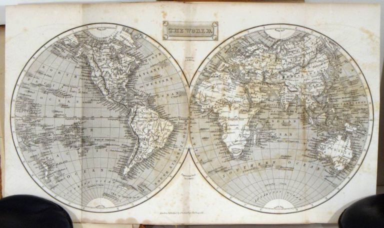 The London General Gazetteer; or, compendious Geographical Dictionary. Containing a Description of the Nations, Empires, Kingdoms, States, Provinces, Cities...of the Known World...Illustrated with Maps. WORLD / UNITED STATES, Originally, R. Brookes.. re-modelled.. by John Marshall, Richard.