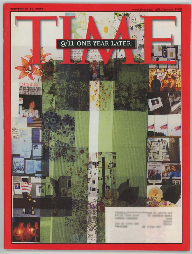 Time Magazine. September 11, 2002. 9/11 ONE YEAR LATER.