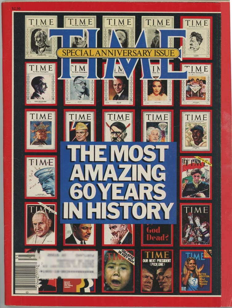 Time Magazine. October 5, 1983. 60th ANNIVERSARY ISSUE.