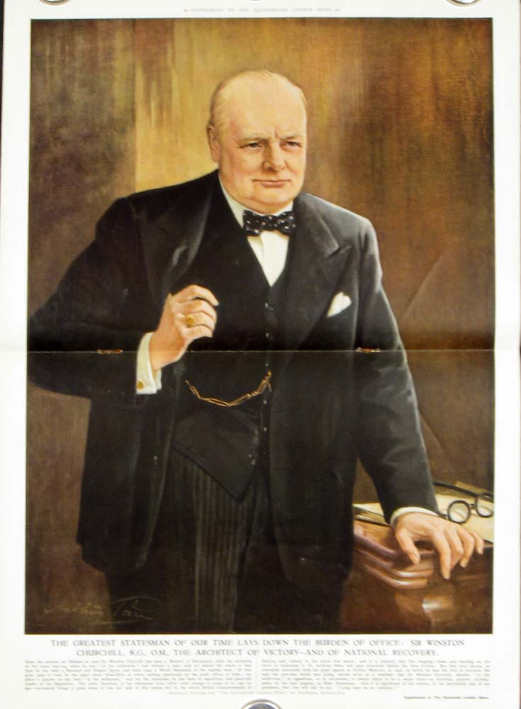Illustrated London News. CHURCHILL, Earl Winterton.