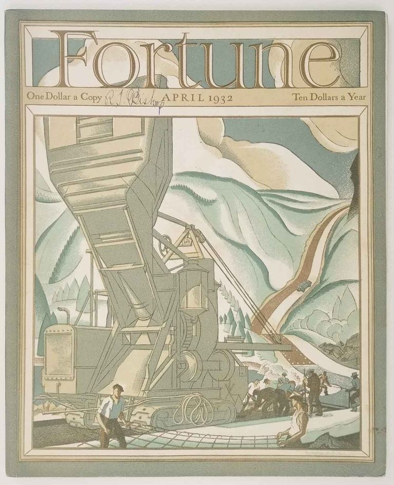 Fortune Magazine. April 1932. BOOKS, BOOKDEALERS / UNITED AIRPLANE / WRIGLEY GUM.