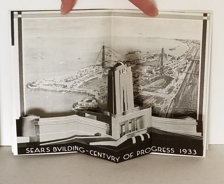 Sears, Roebuck and Co. SEARS ROEBUCK COMMERCIAL PAMPHLET - POP UP CENTERFOLD, Century of Progress.
