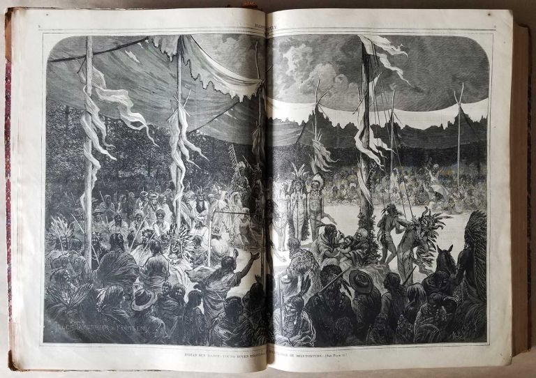 Harper's Weekly. A Journal of Civilization. Volume for the year 1875. BOUND VOLUME - 1875.
