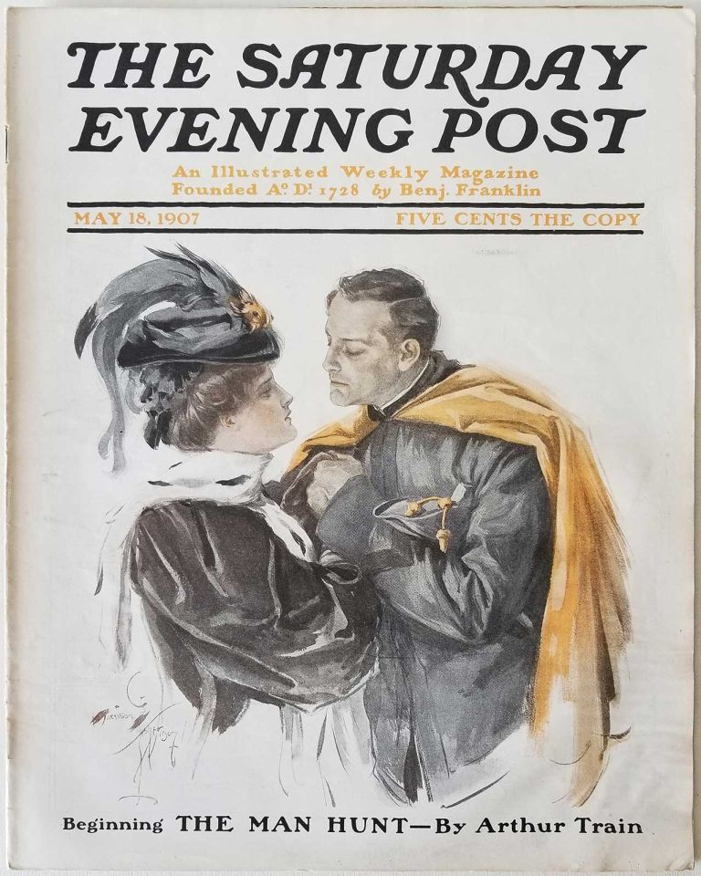 The Saturday Evening Post. February 5, 1910. DOMESTIC / FICTION / ADVERTISING.
