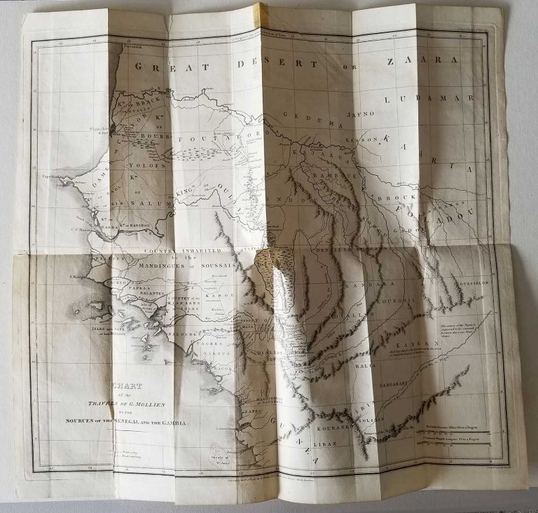 Travels in Africa to the Sources of the Senegal and Gambia, in 1818. AFRICA - SENEGAL - GAMBIA, G. Mollien.