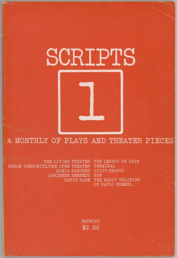 Scripts - A Monthly of Plays and Theatre Pieces. PLAY SCRIPTS, Erika Munk.