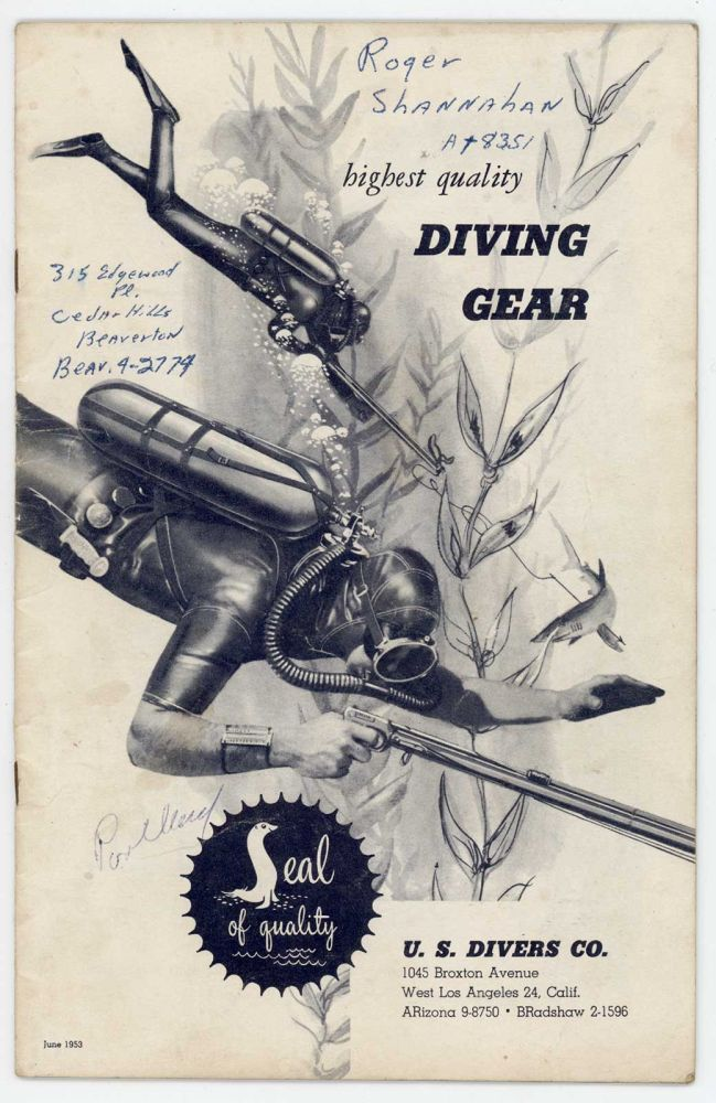 highest quality Diving Gear. DIVING GEAR.