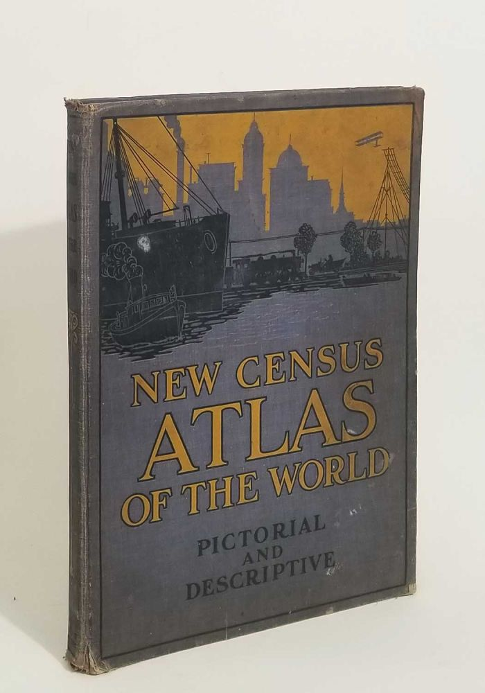 The New Census Physical, Pictorial and Descriptive Atlas of the World. ATLAS - WORLD.