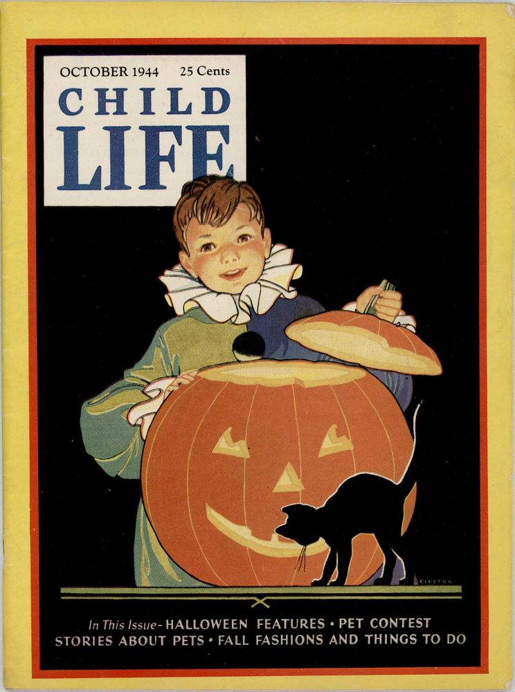 Child Life. October 1944. HALLOWEEN.